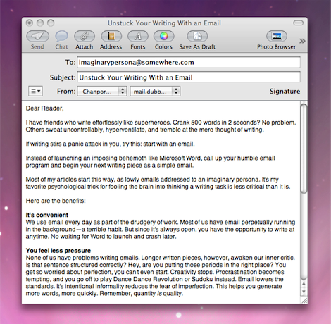 Why You Should Stop Emailing – and Write a Letter Instead
