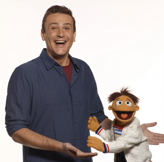 Too_Difficult_Muppets Jason Segel and Walter