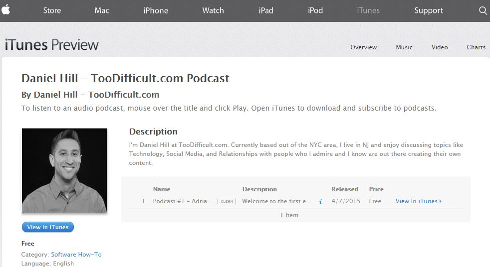 Podcast Image iTunes